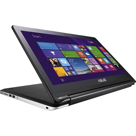asus tp500la eb31t transformer book flip tp500la eb31t b h photo