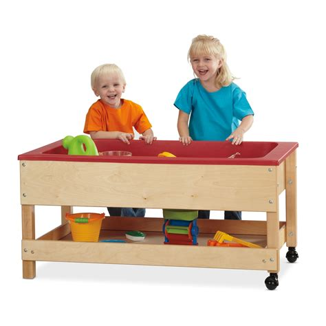 sensory table for toddlers jonti craft toddler sensory table with shelf ebay