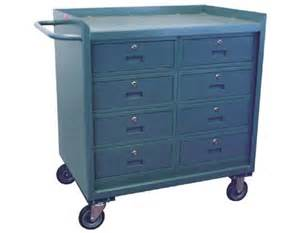 8 drawer mobile cabinet cart sjf