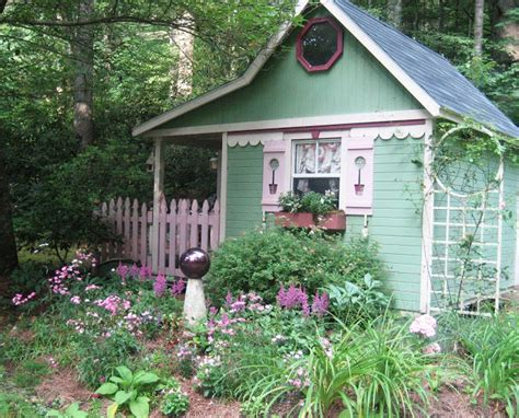 whimsical cottage gardening sit with me in garden