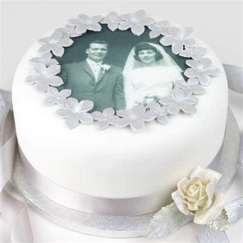 personalised wedding anniversary cake decorating kit by