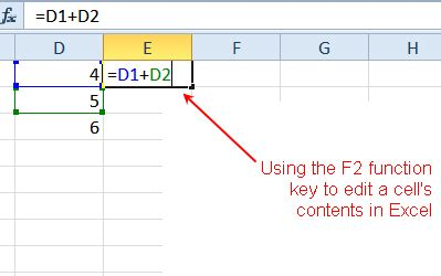 Smart Shortcut To Grammar Soft Cover edit cells with the f2 function key in excel