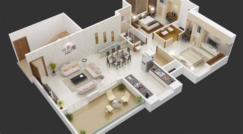 3d House Plan Drawing Software Free Download desain interior rumah dengan 3 kamar tidur