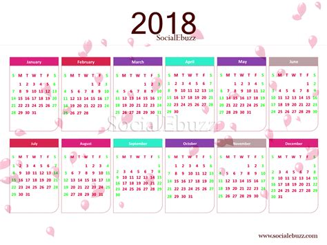 small calendar template 2018 yearly calendar template 2018 calendar yearly