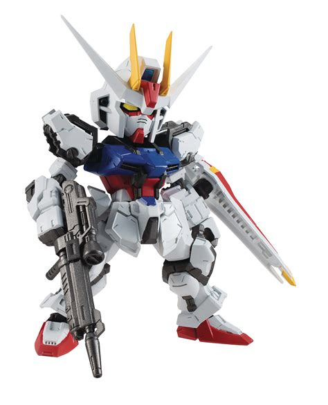 Nxedge Strike Gundam apr178895 nxedge gundam seed aile strike gundam fig previews world