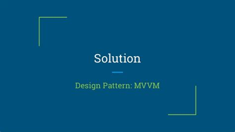 design pattern in android architectural design pattern android