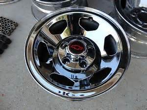 Chrome Ss Truck Wheels 17 Inch Chrome Wheels Rims Chevy Gmc 6 Lug 1500