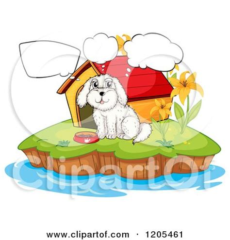 thinking outside dog house royalty free rf dog house clipart illustrations vector graphics 1