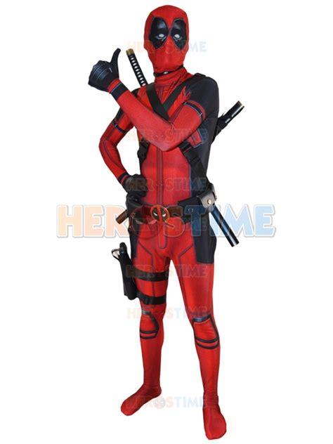 Kaos Print Umakuka Dedpool Suits deadpool costume 3d printed suit