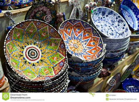 Handmade For Sale - handmade turkish plates for sale stock image image