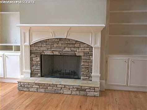 1000 ideas about mantel on cottage