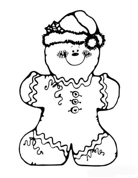 coloring book pages gingerbread gingerbread coloring pages to printable