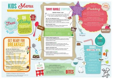 menu ideas restaurant menu ideas for tips for kid friendly designs uprinting