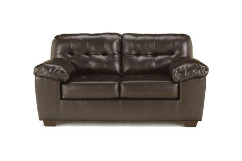 bonded leather loveseat alliston bonded leather loveseat