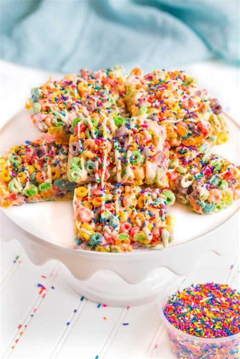 fruit of loops fruit loop cereal bar recipe besto