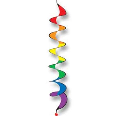 rainbow spiral twister