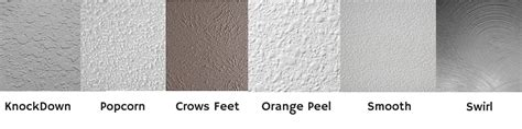 types of wall texture wall texture what type do you have