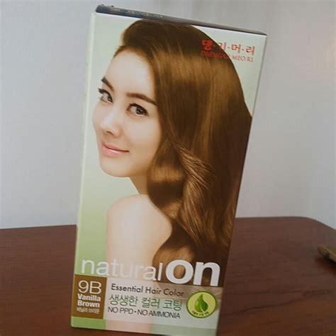 korean hair color other korean hair color vanilla brown poshmark