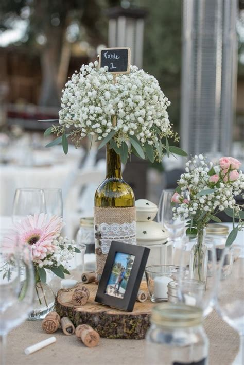 wedding centerpieces wine bottles 25 best wine bottle centerpieces ideas on
