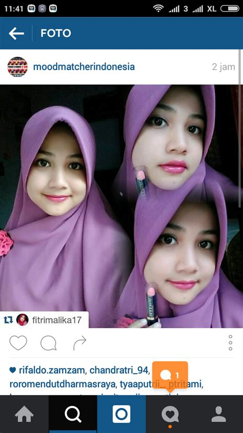 Lipstik Moodmatcher Indonesia fitrimalika with moodmatcher pink ratukutek