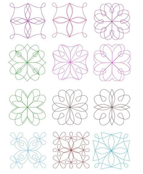 Quilting Designs For Embroidery Machine by 17 Best Images About Embroidery Quilt Blocks On