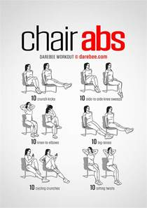 Office Chair Ab Workout Chair Abs Workout