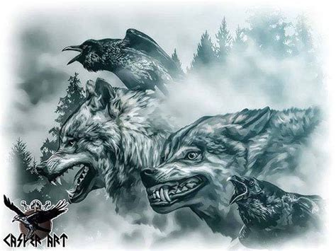 huginn and muninn tattoo 499 best asgard images on norse mythology