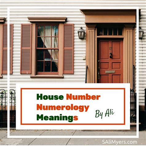 house numerology house number numerology meanings s ali myers