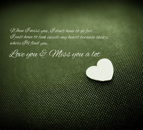 I Miss You Cards For Him
