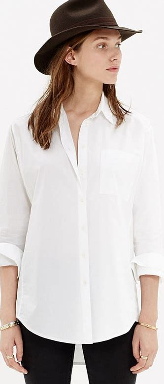 Hq 10977 Collar Gold Shirt Black White 10 must items for a timeless wardrobe ideas hq