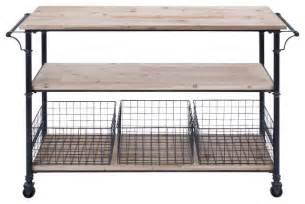 Wheeled Kitchen Islands utility cart wheels metal framework 3 wood shelves 3