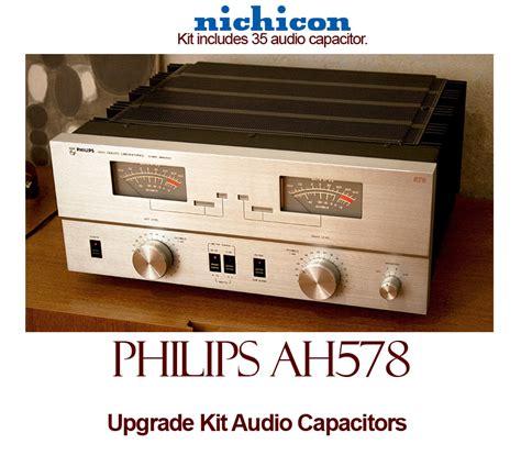 philips audio capacitors philips ah578 upgrade kit audio capacitors