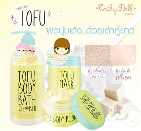 Cathy Doll Tofu Mask cathy doll white tofu mask 170ml thailand best selling