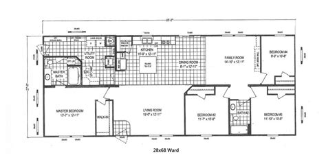 iseman homes floor plans 18 75156 940 28x68 clayton heritage ward