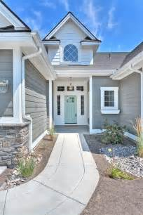 Grey House Paint by Exterior Colors Paint Colors And Blue Doors On Pinterest