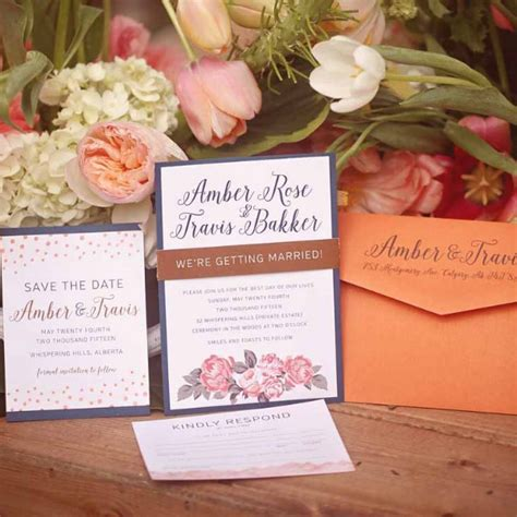 wedding invitation printing calgary invitations wedding invitations calgary canmore and banff