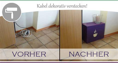 Kabelsalat Verstecken Kreative Ideen by H 228 Ssliche Kabel Sch 246 N Verpackt Wohncore