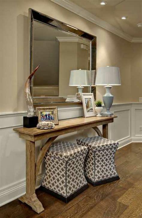Entryway Table Mirror Set Le Meuble Console D Entr 233 E Compl 232 Te Le Style De Votre
