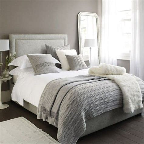 romantic neutral bedroom  soft textures neutral colors      white