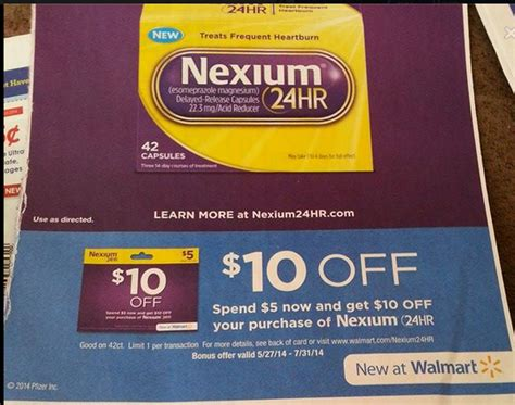 printable gift certificates walmart related keywords suggestions for nexium coupons 2015