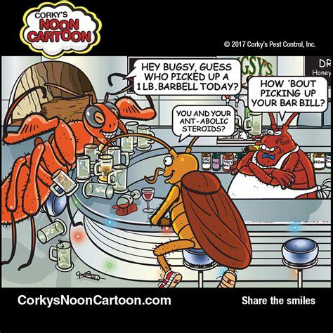 Ant Cartoons Corky S Pest Control Services San Diego