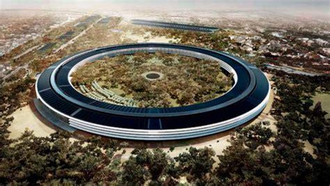 Apple Yang Baru desain markas baru apple seperti piring terbang telset