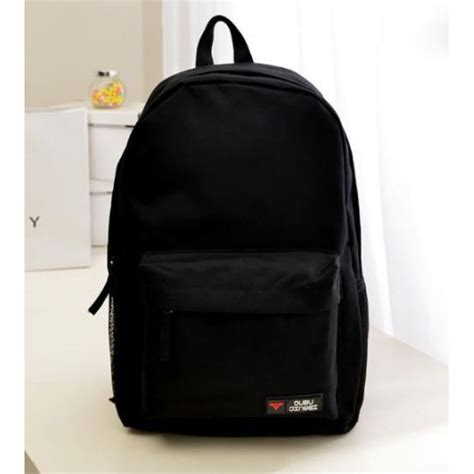 Tas Laptop Royal Polo tas backpack canvas model polos black jakartanotebook