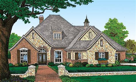 european french country house plans attractive french country exterior 48005fm 1st floor