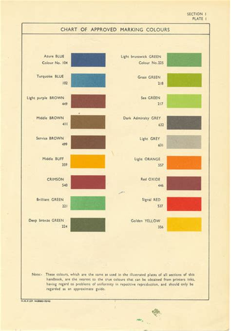 50 s color scheme british colour schemes 1940s to early 50s page 4
