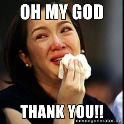 Thank You Funny Meme - thank you funny crying meme picture entertainmentmesh
