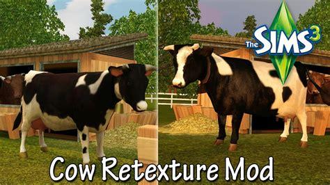 hair farm download the sims 3 cow retexture mod farm fresh folk set by