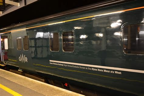 Great Western Sleeper by Great Western Rebrands To Great Western Railway And