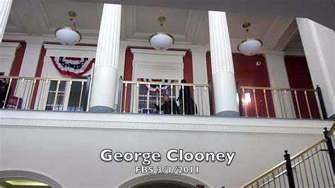 Miami Farmer School Of Business Mba by George Clooney Fsb Miami March 1st 2011