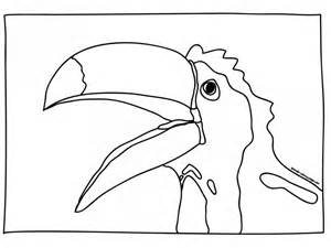 toucan coloring page toucan coloring page az coloring pages